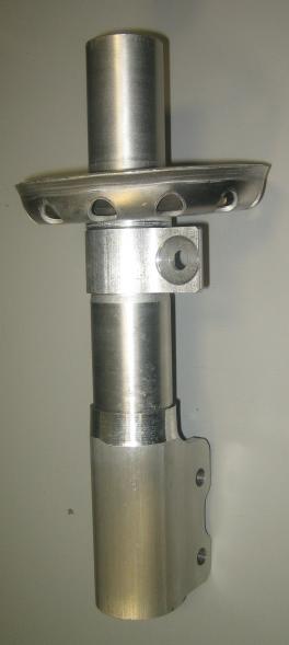 Passive Shock - Lightweight Material - Aluminum Reservoir Tube Assembly