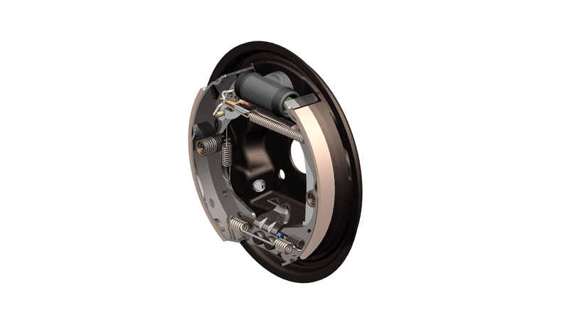 350 - Drum Brakes - Product Drawing